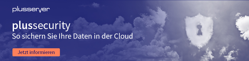 Banner plussecurity - Cloud Security