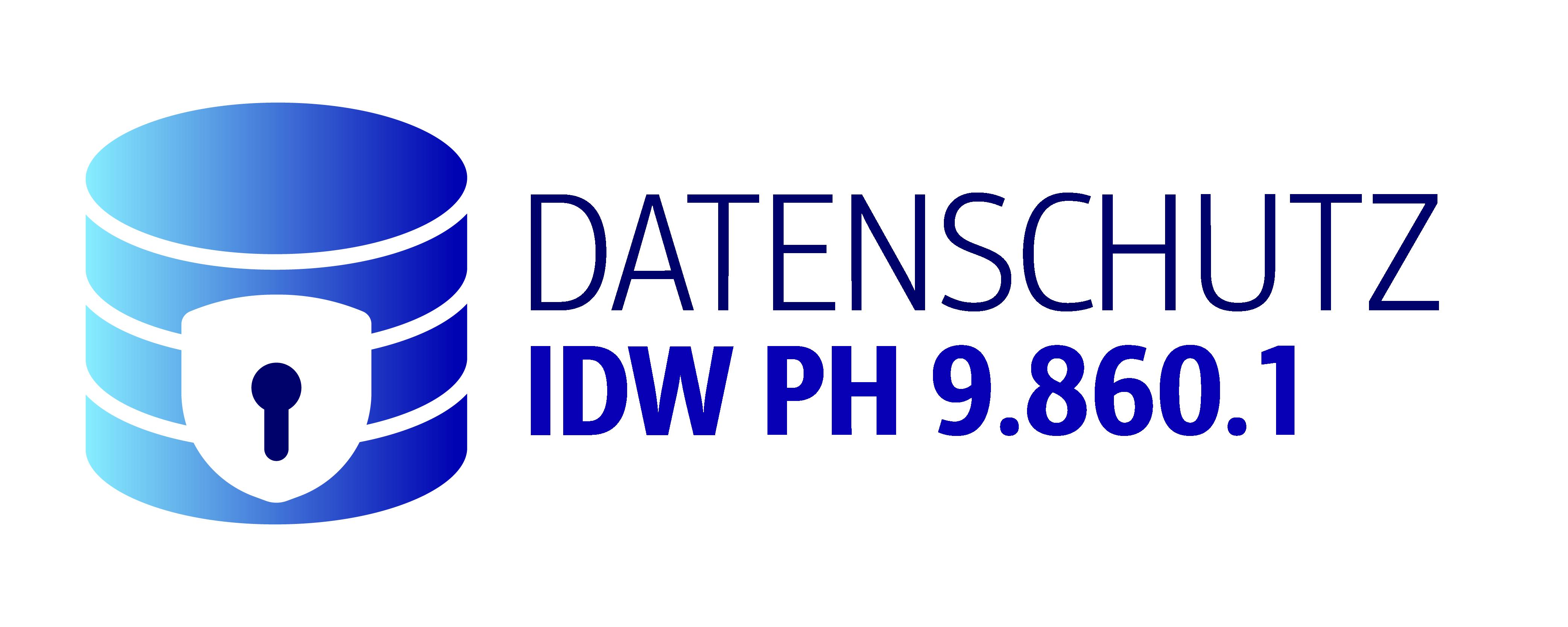 Datenschutz nach IDW PH 9.860.1